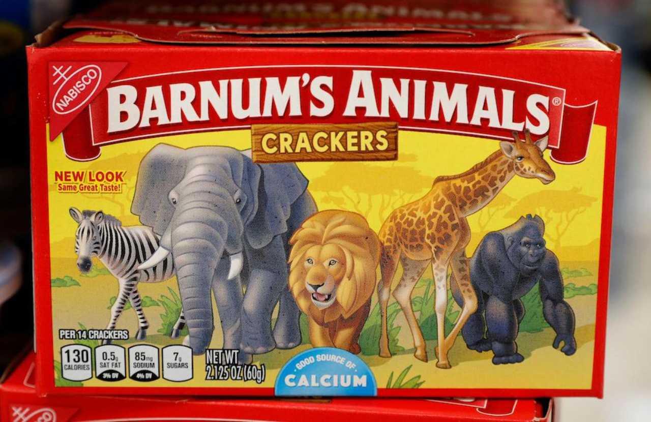 La famosa caja de las galletas de animalitos
