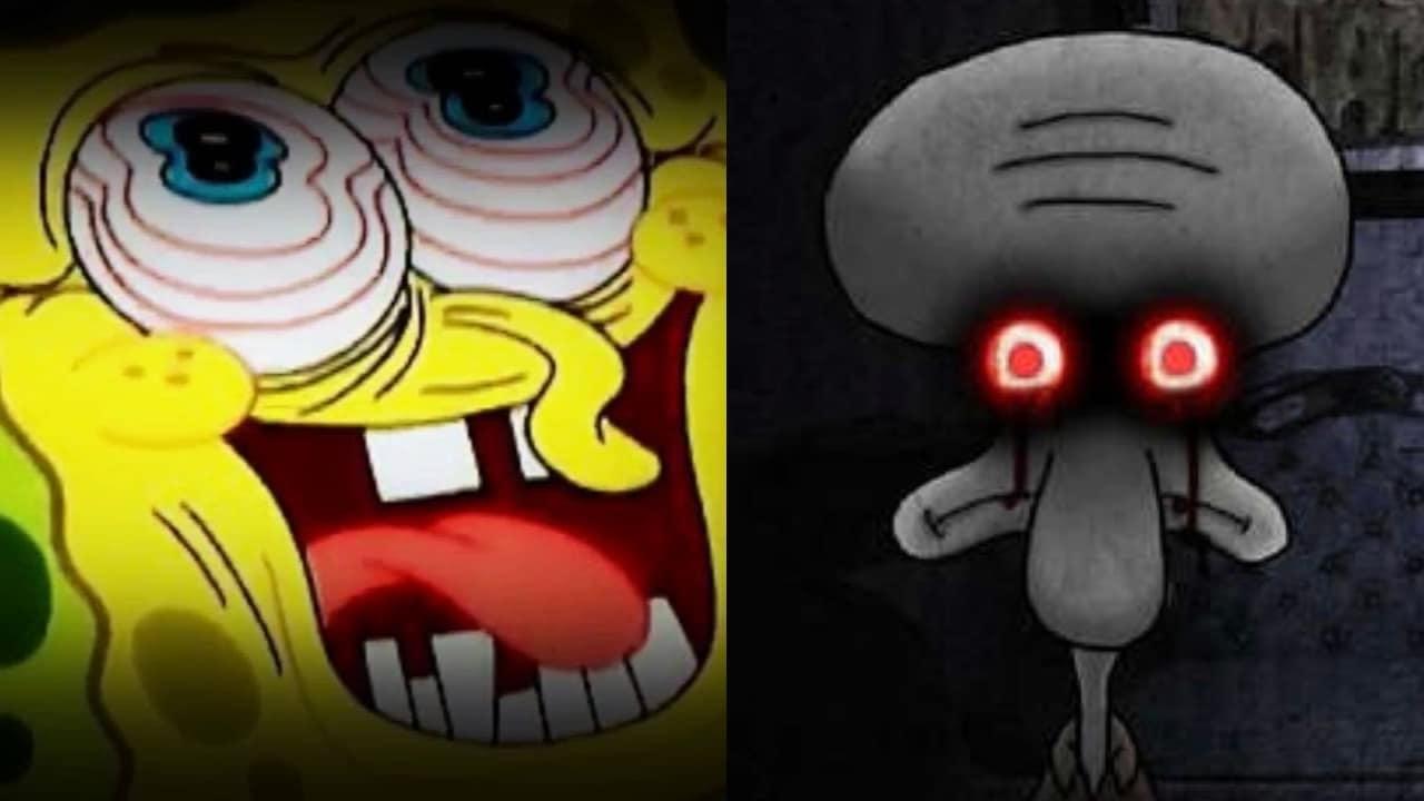 Las 5 creepypastas más aterradoras de Bob Esponja