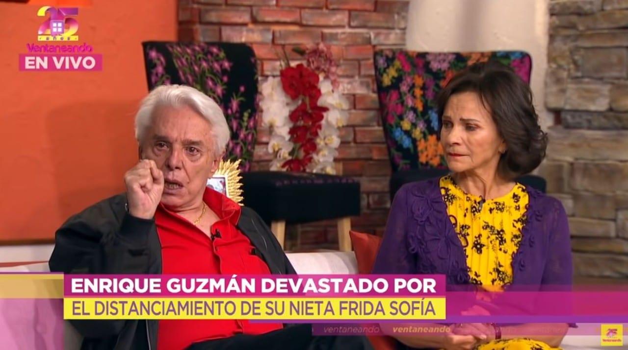 Enrique Guzmán algo mal contigo defendiendo