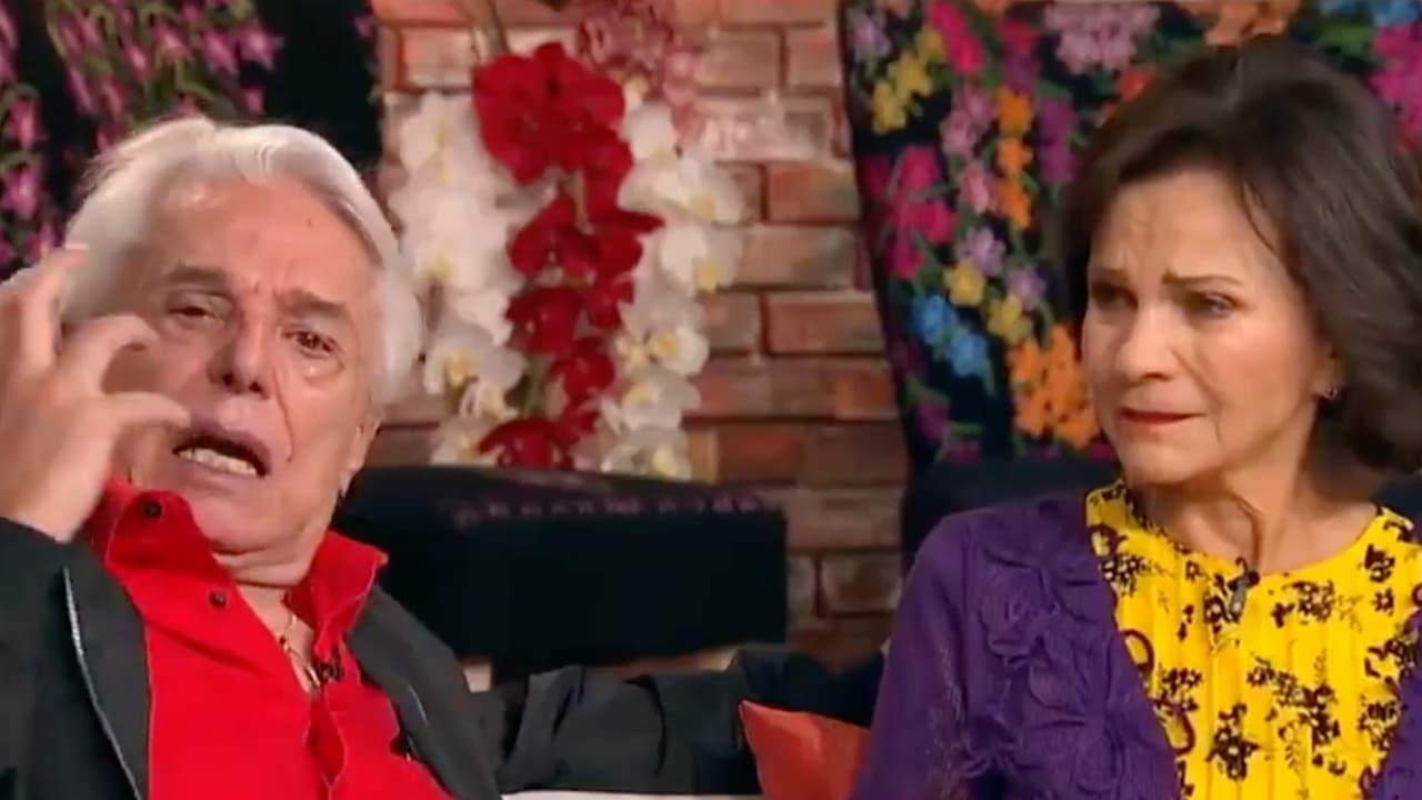 Enrique Guzmán llora en vivo con Pati Chapoy