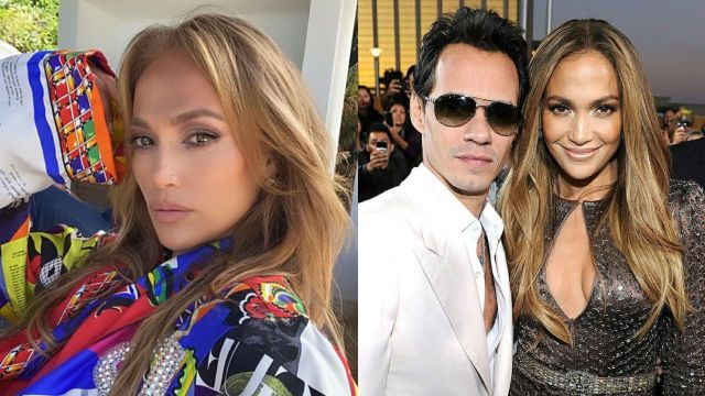 Jennifer Lopez regresa brazos de Marc Anthony