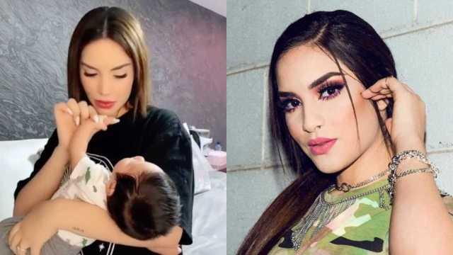 Kimberly Loaiza: Su hijo Juanito es idéntico a ella y fotos lo confirman