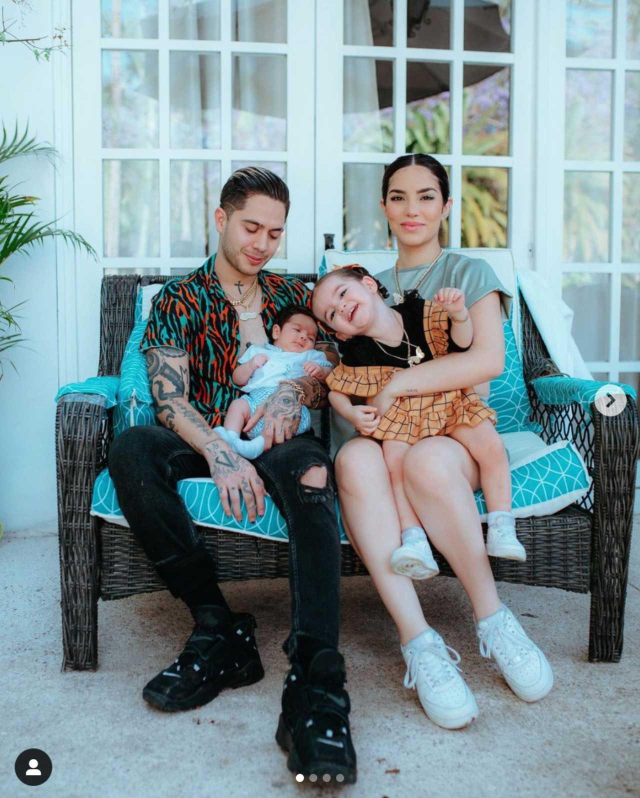 Kimberly Loaiza publica su primera foto familiar