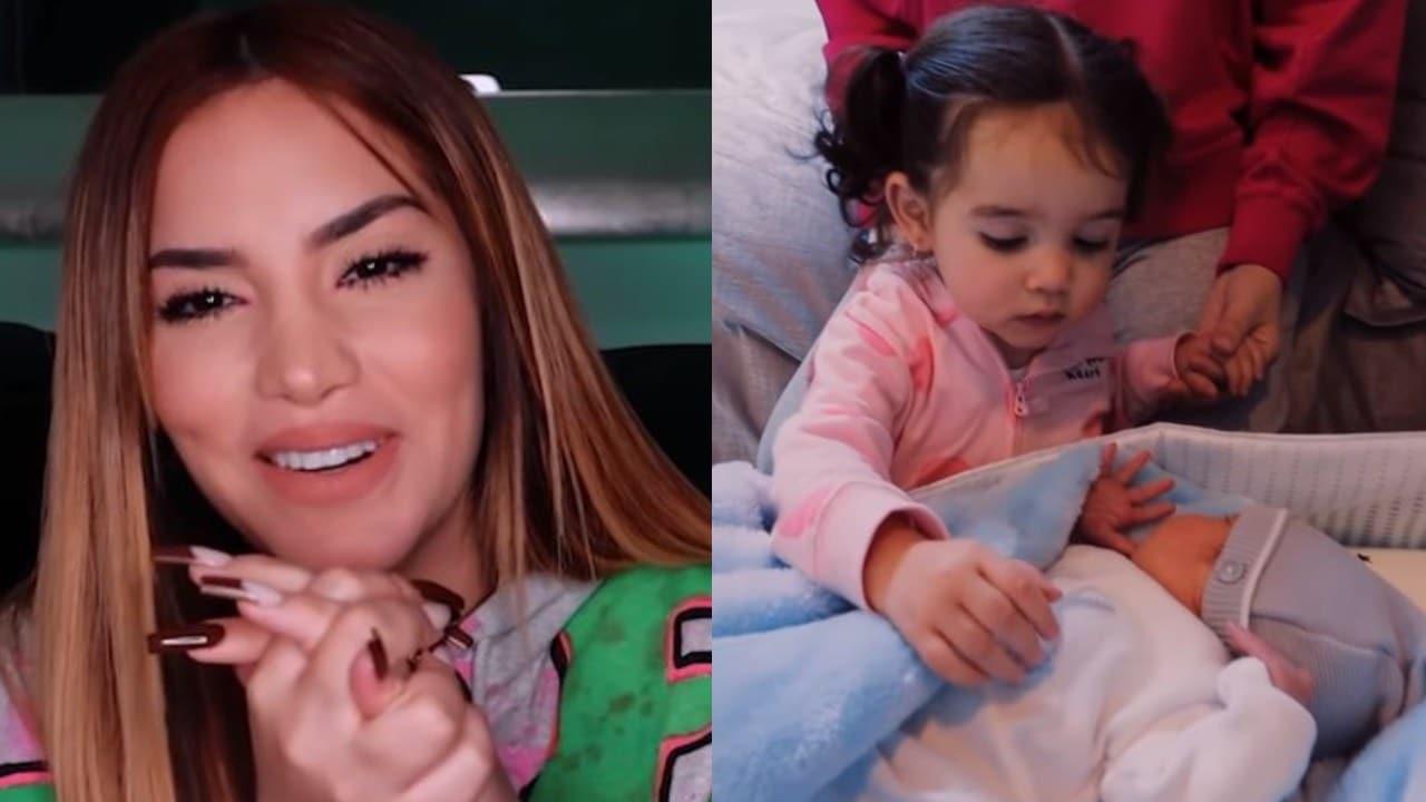 Kimberly Loaiza comparte el tierno momento en que Kima conoció a Juanito