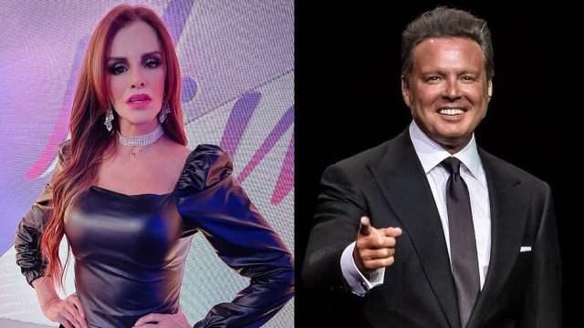Lucia Mendez amor de vida de Luis Miguel