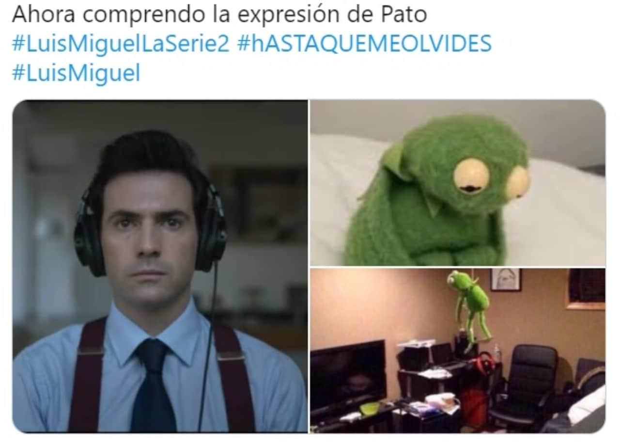 Meme Patricio Luis Miguel La Serie