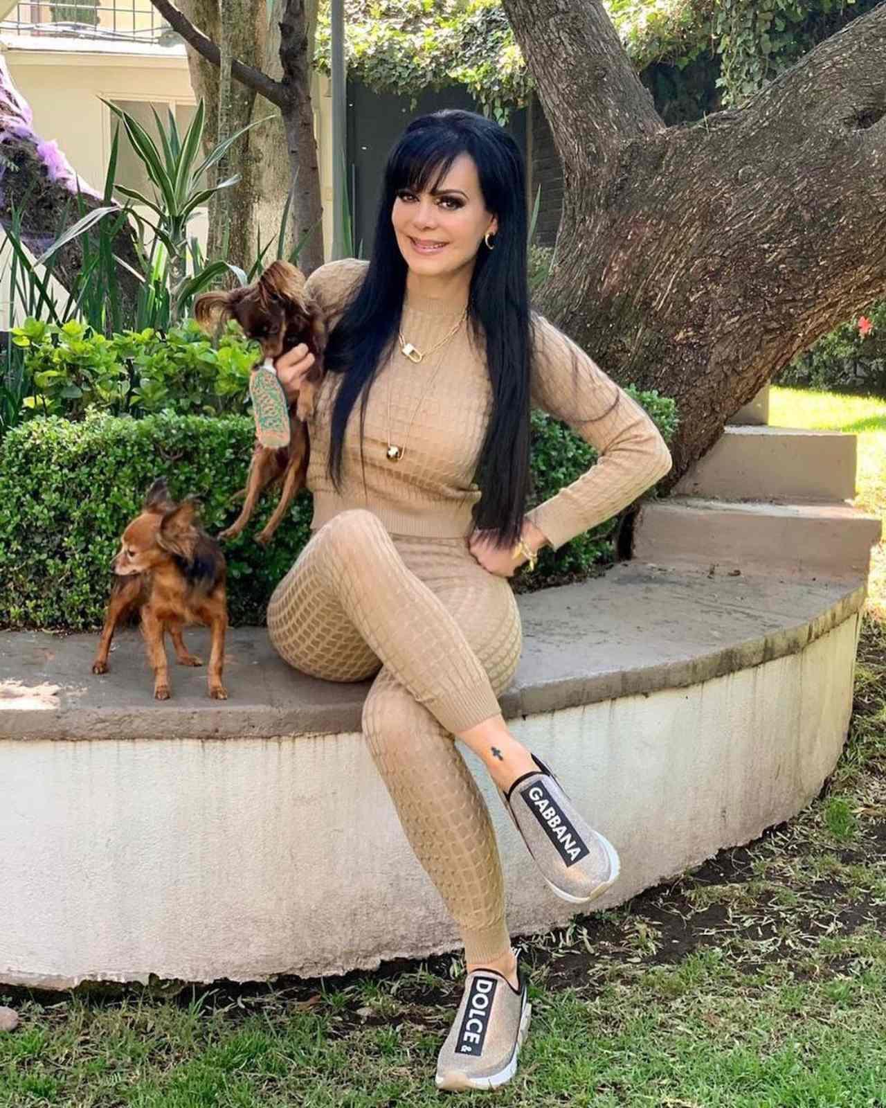 Maribel y sus mascotas