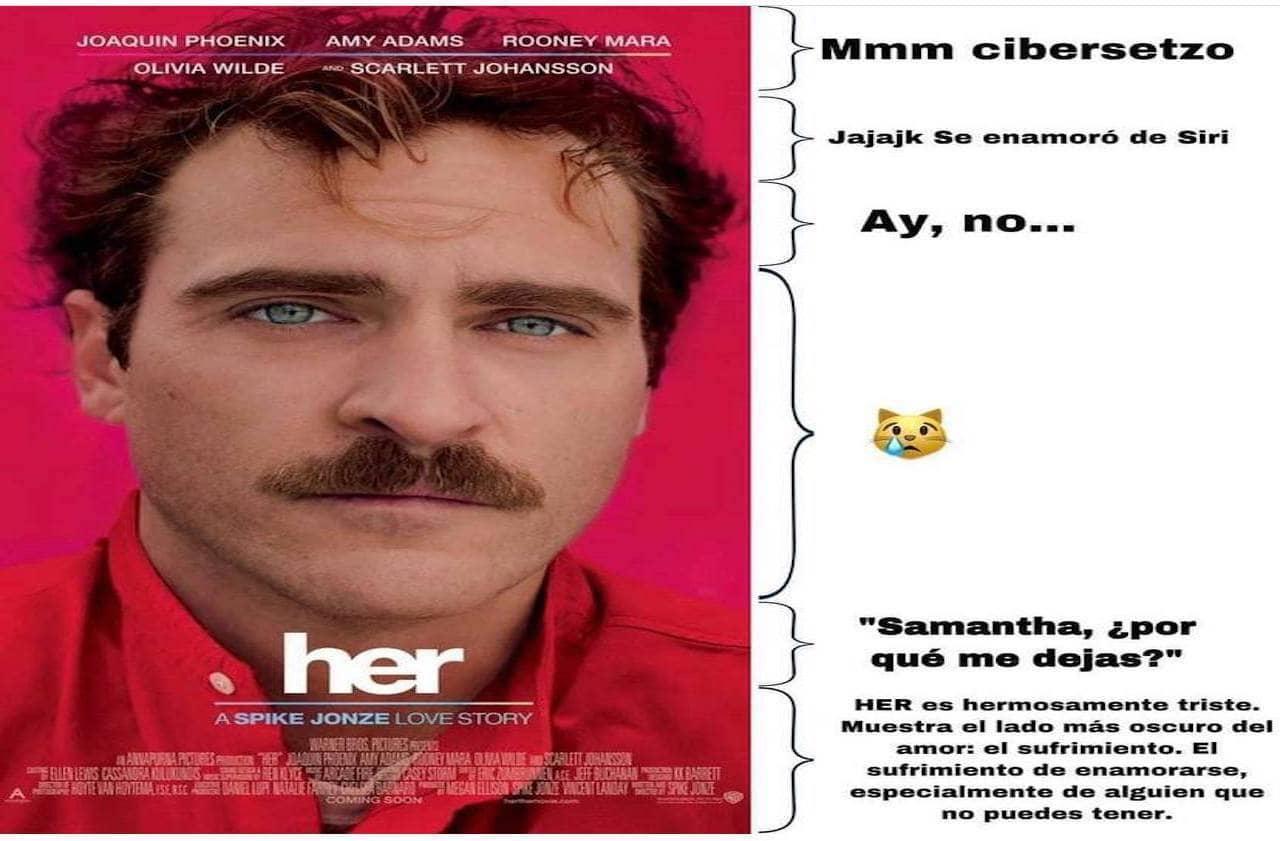 Memes de corchetes con la película Her