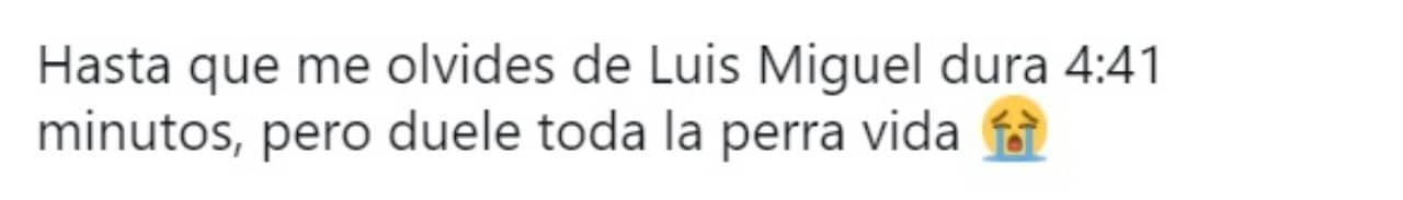 Meme Hasta que me olvides Luis Miguel
