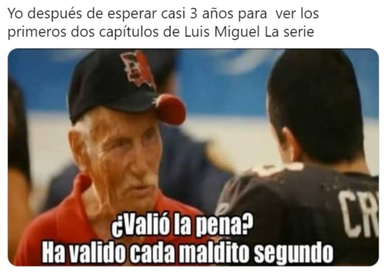 Luis Miguel La Serie meme