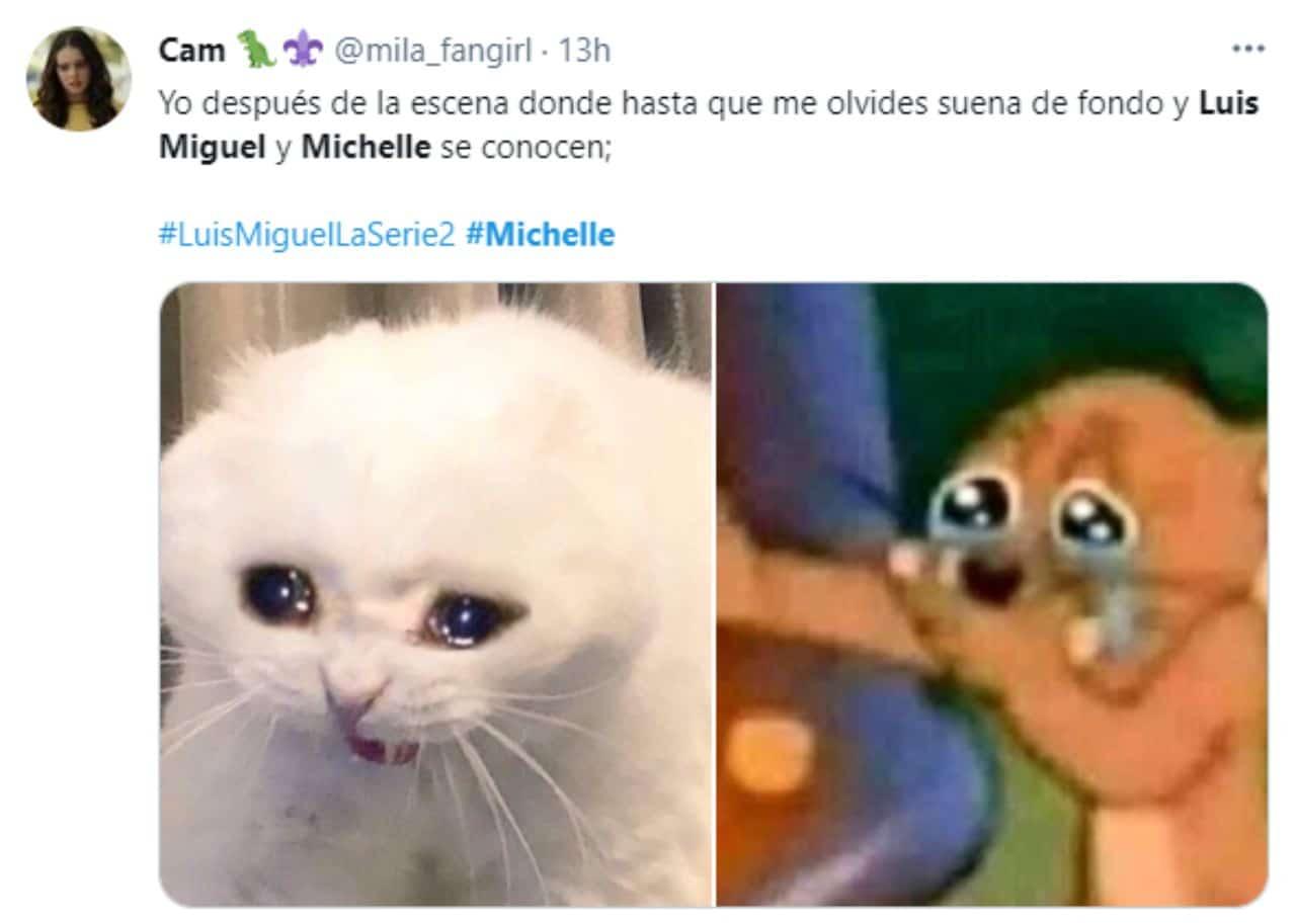 Meme Luis Miguel y Michelle Salas