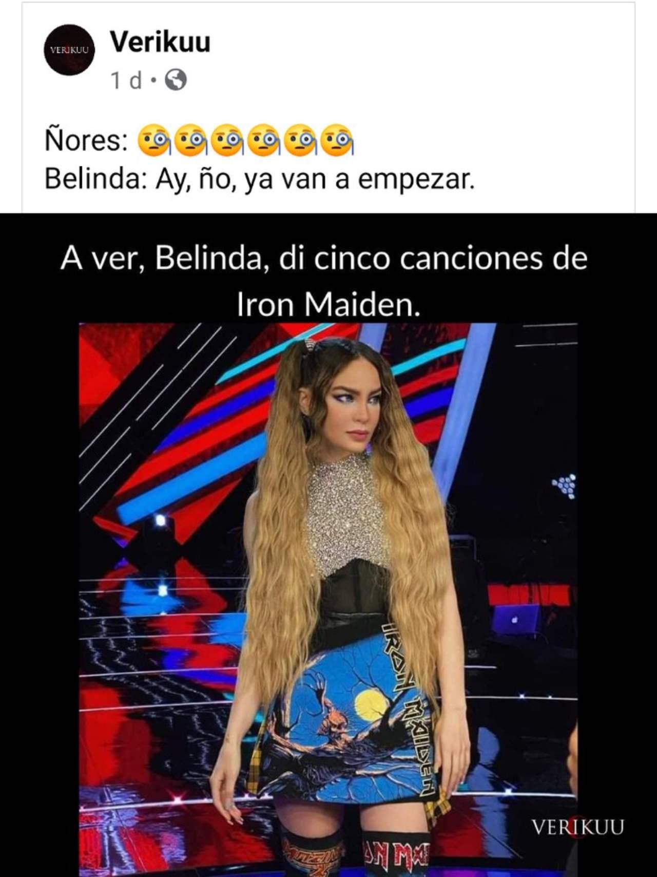 Belinda metalera