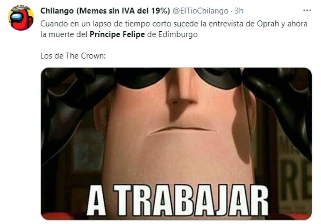 meme the crown material serie