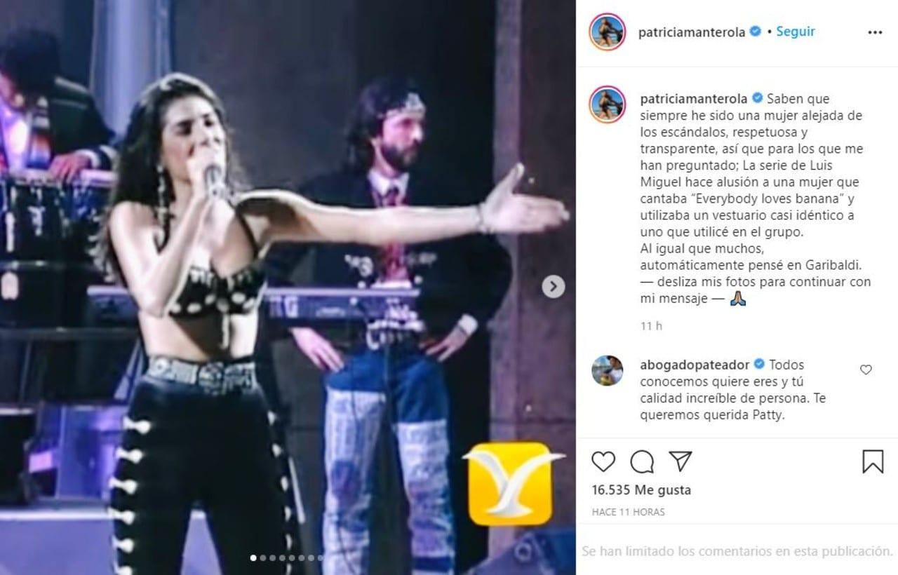 Patricia Manterola critica Luis Miguel la serie