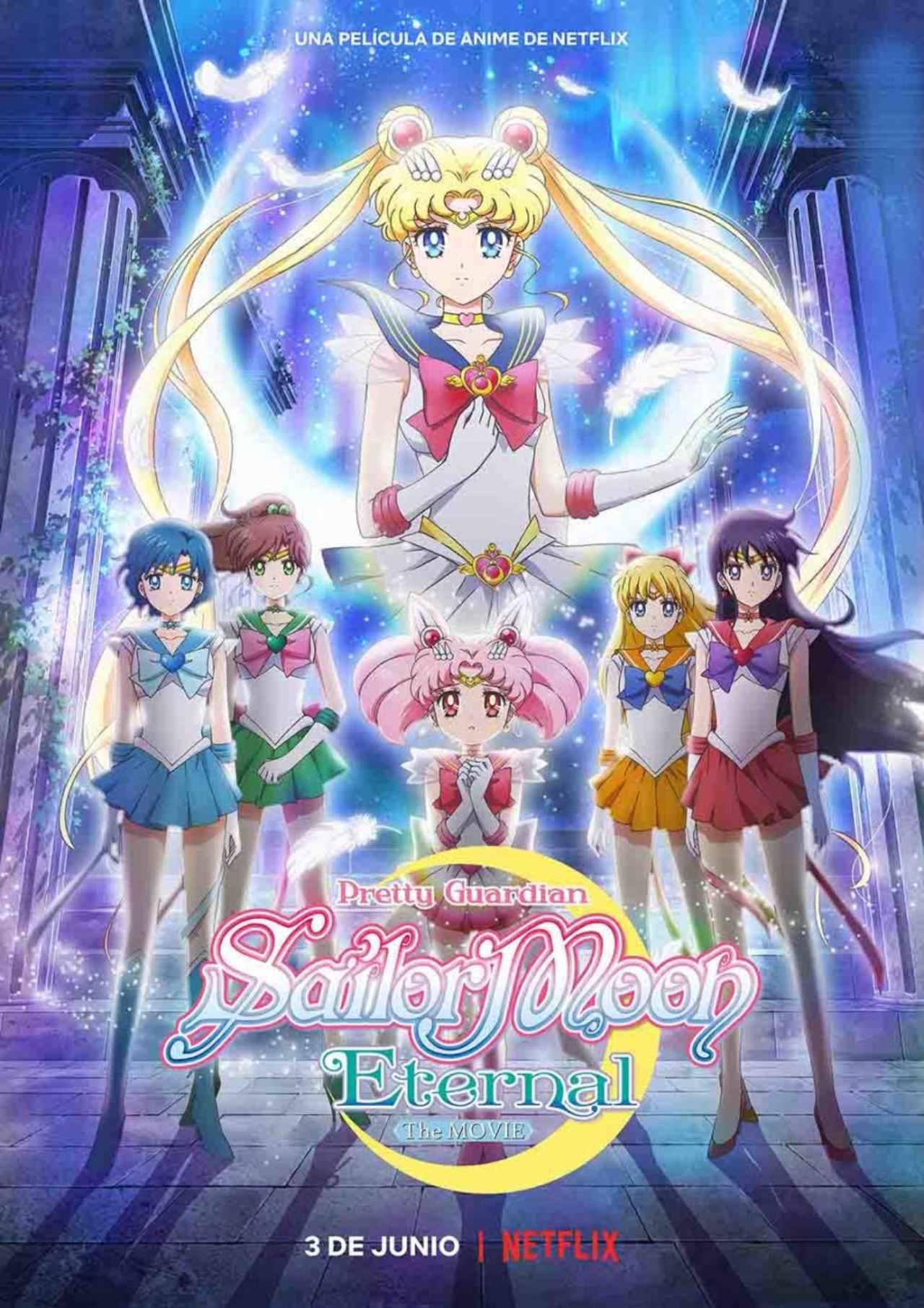 Poster de Sailor Moon la película Netflix