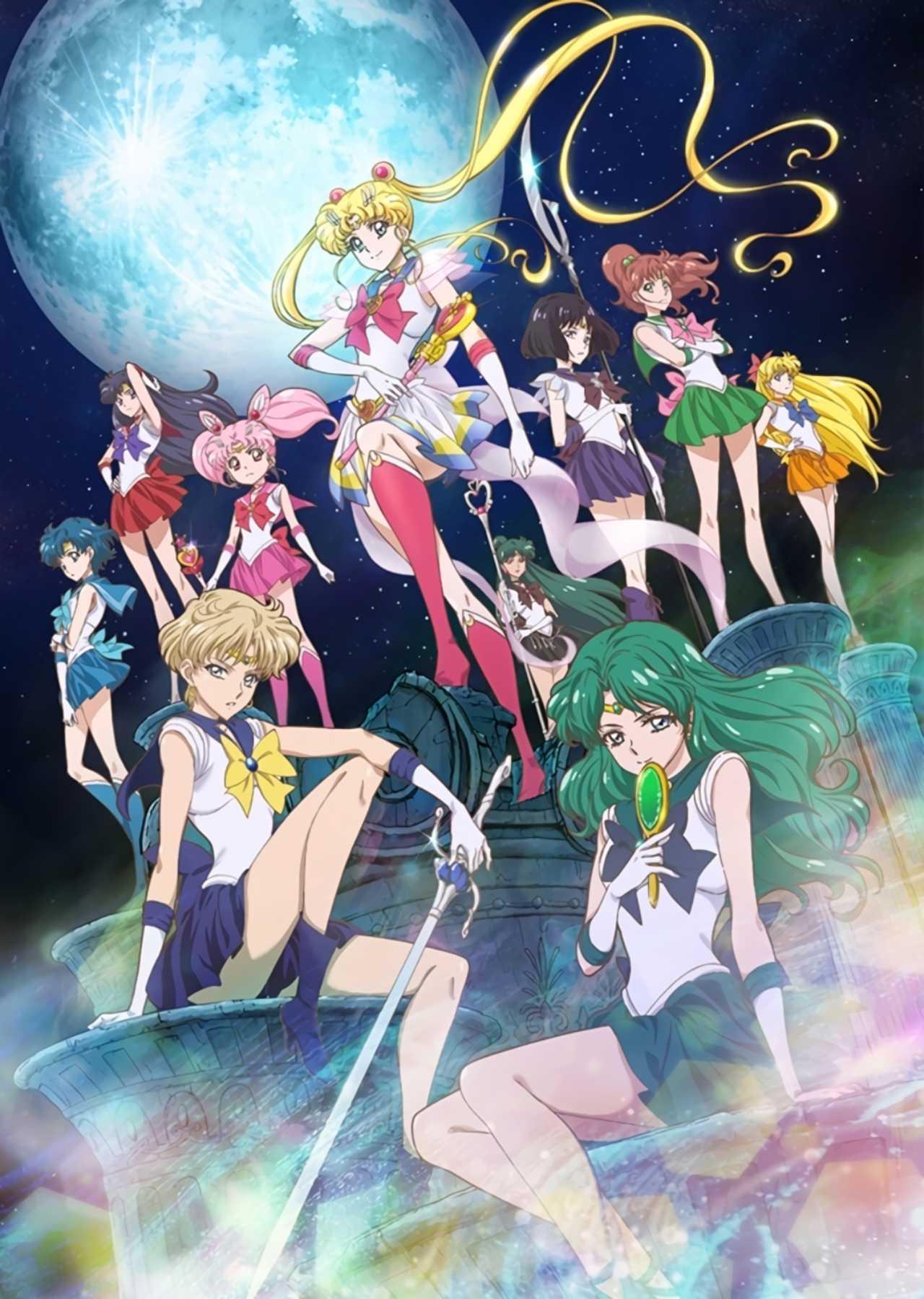 Sailor Scouts en la nueva película
