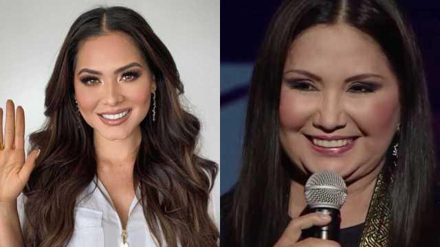 Andrea Meza es hija de Ana Gabriel