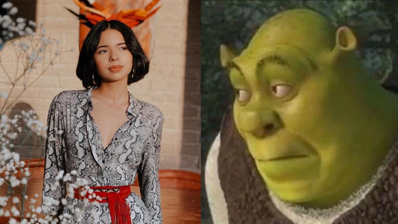 Angela Aguilar se convierte en Shrek