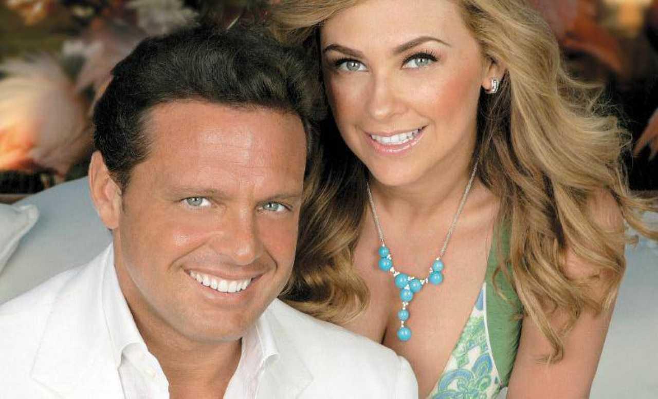 Luis Miguel y Aracely Arámbula juntos