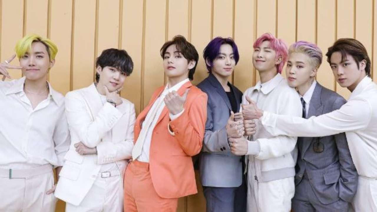 BTS, triunfando en Friends
