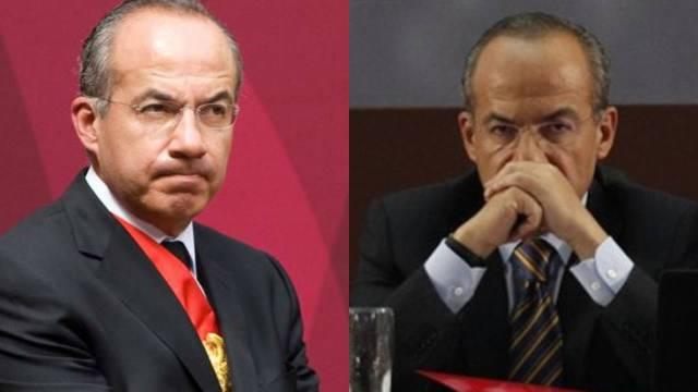 Felipe Calderón molesto de que le digan borracho