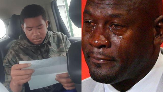 Joven llora porque se entera que existen los impuestos