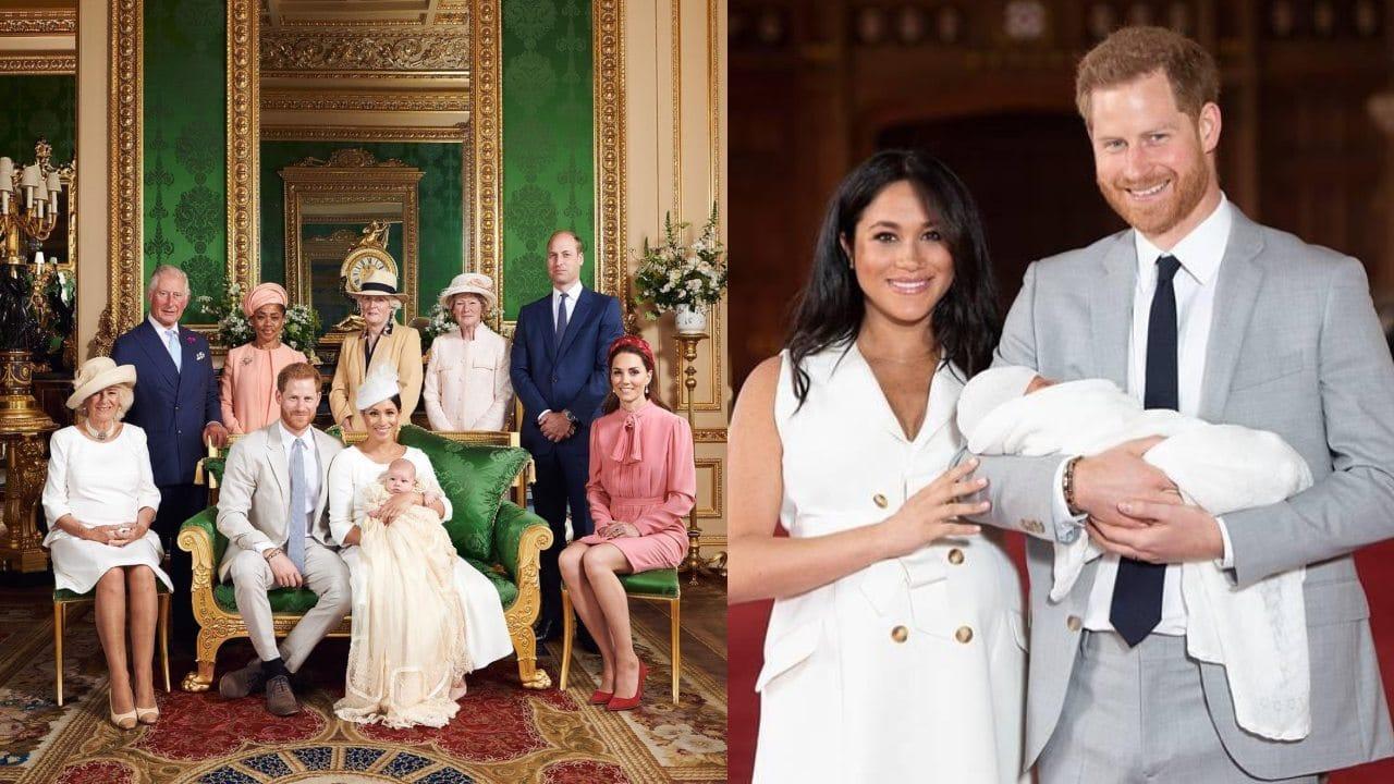 Felicitación Familia Real a Archie hijo Meghan Harry
