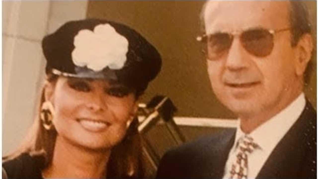 Lucía Miranda con su esposo, Hugo López