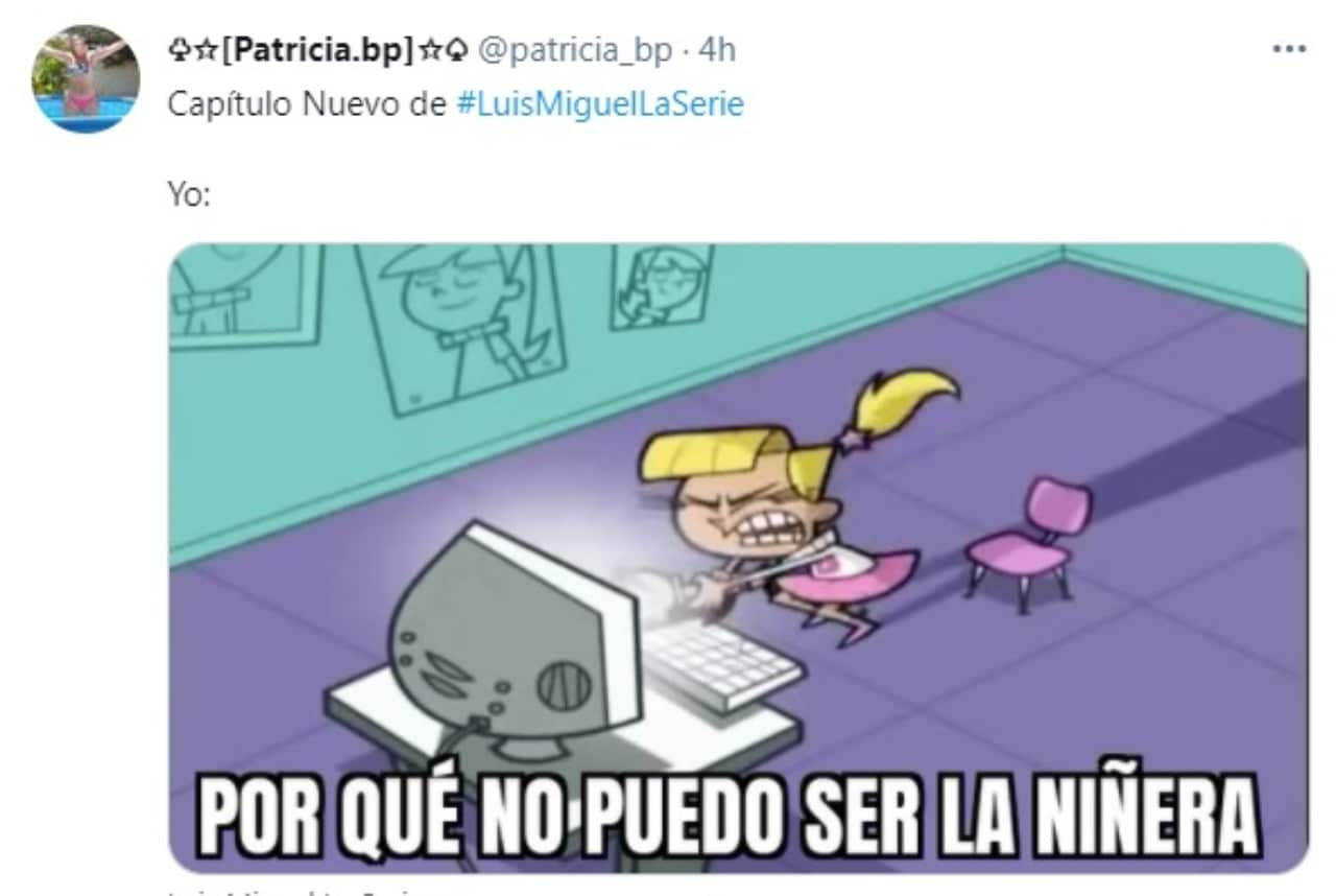 Meme Luis Miguel y niñera