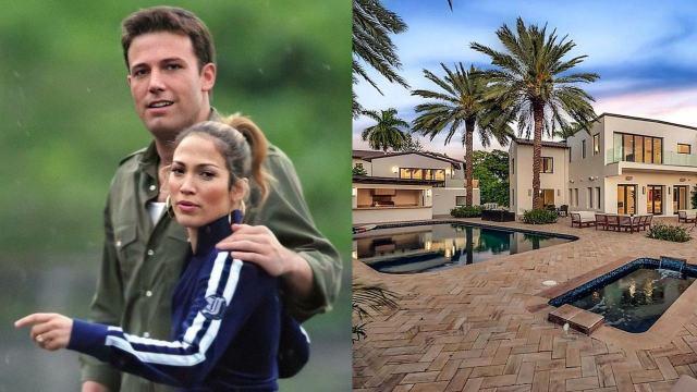 Mansion viven Jennifer Lopez y Ben Affleck