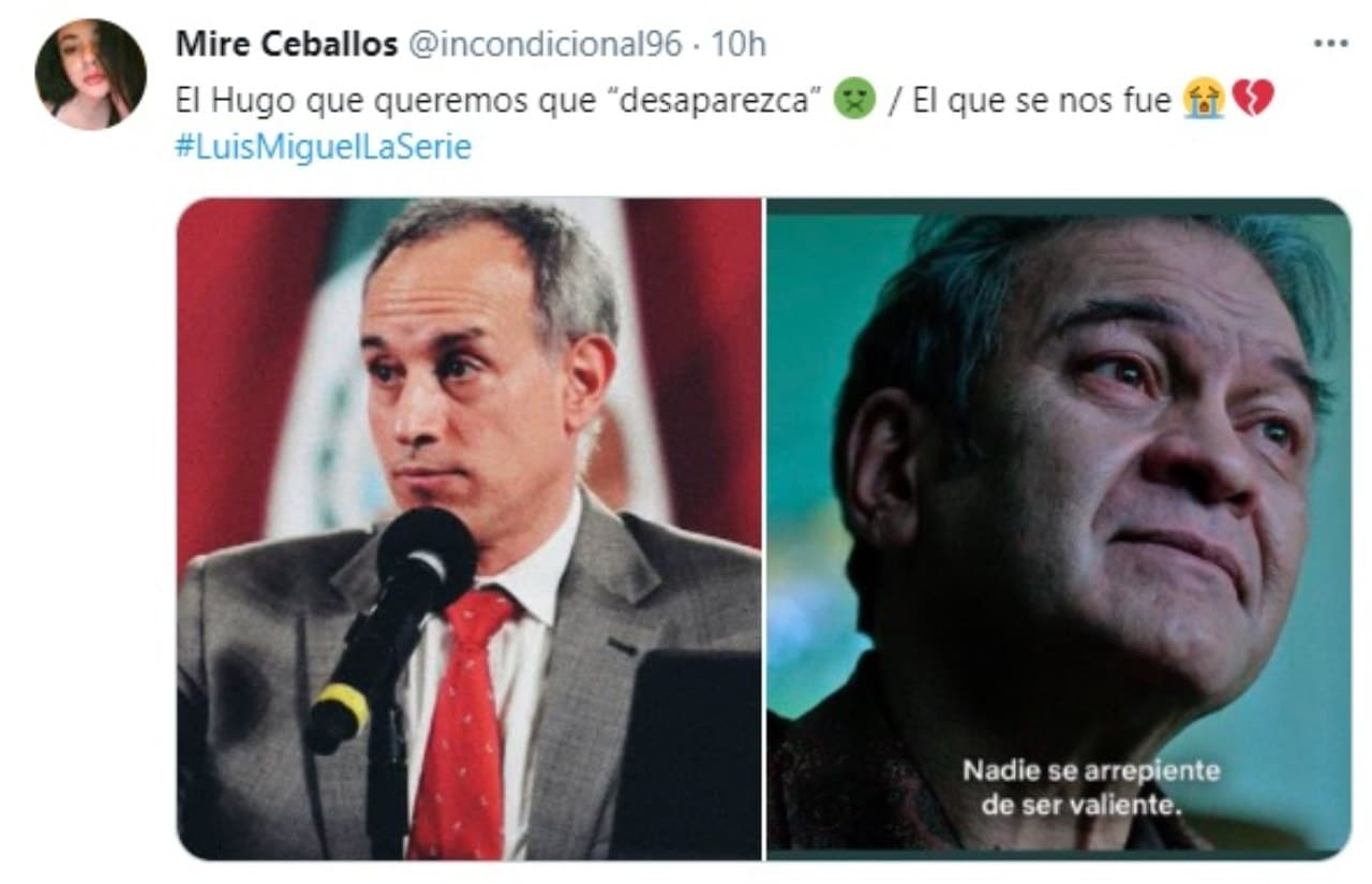 Meme Hugo Lopez Gatell y Hugo Lopez