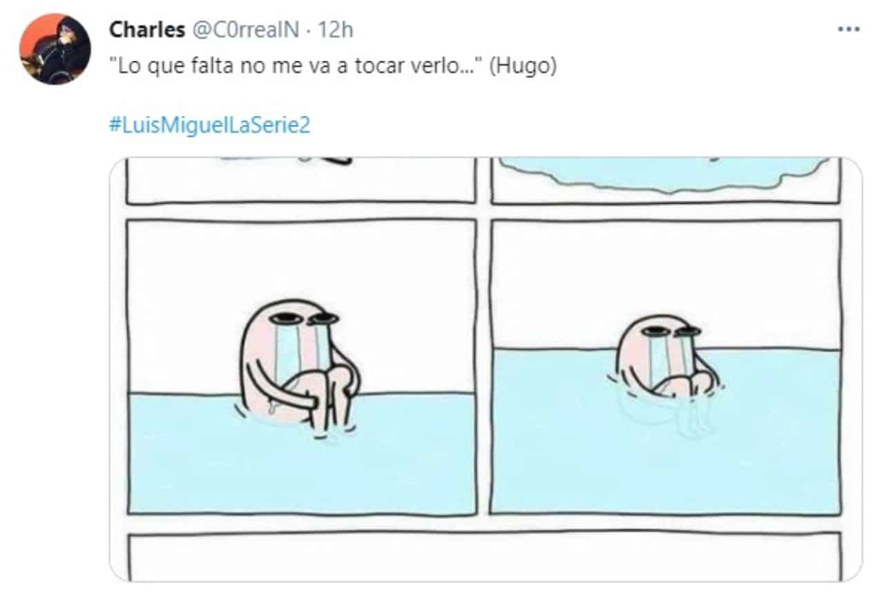 Meme muñequito llorando muerte Hugo