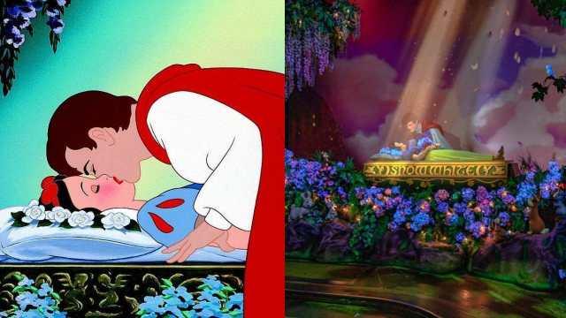 Blancanieves beso del principe no consensuado