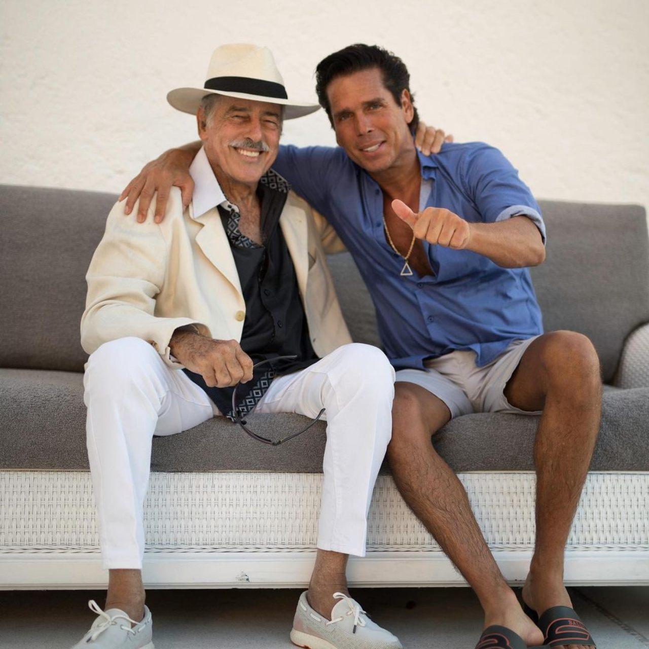 Andrés García y Roberto Palazuelos sin rencores