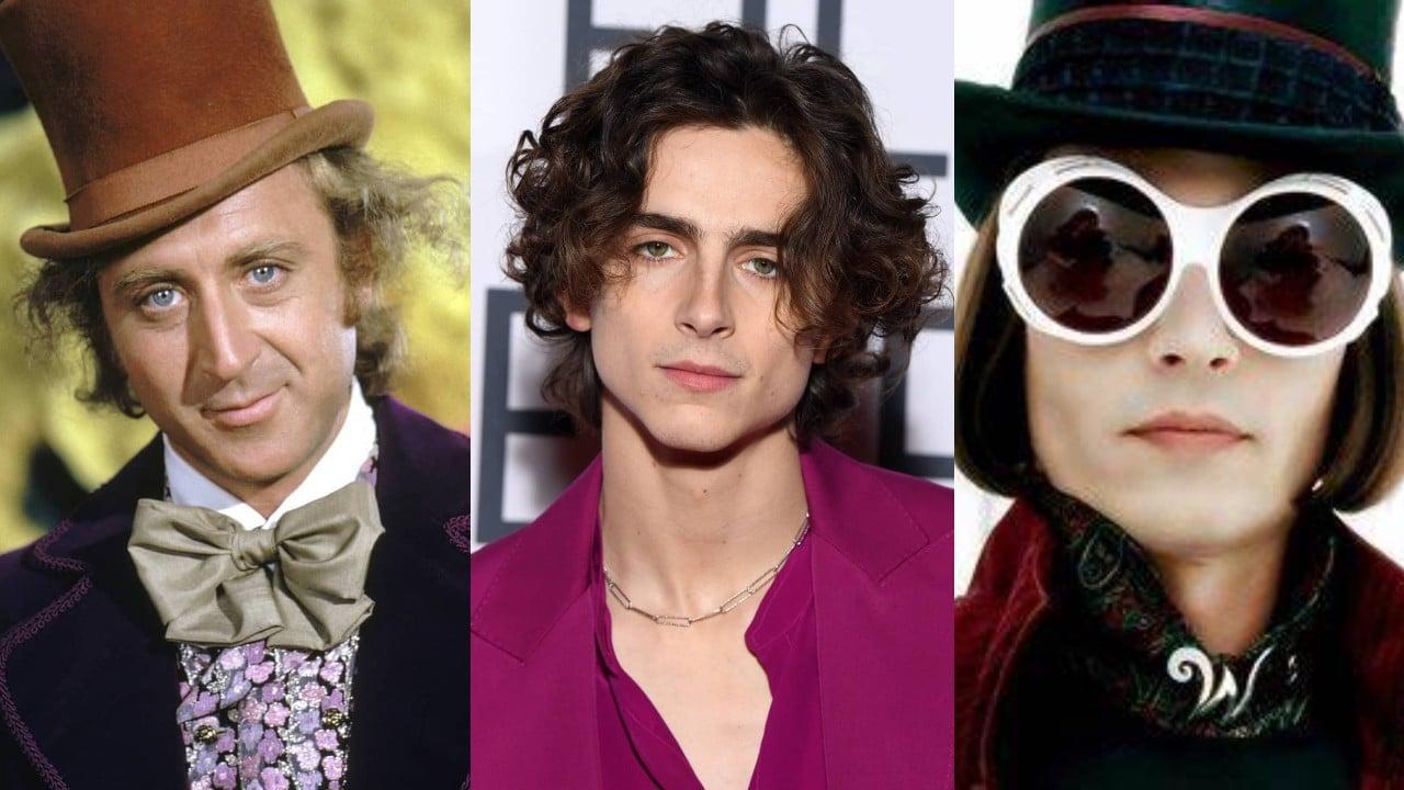 Timothee Chalamet el nuevo Willy Wonka