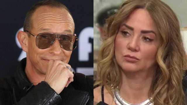 Andrea Legarreta responde ante la supuesta infidelidad de Erik Rubín