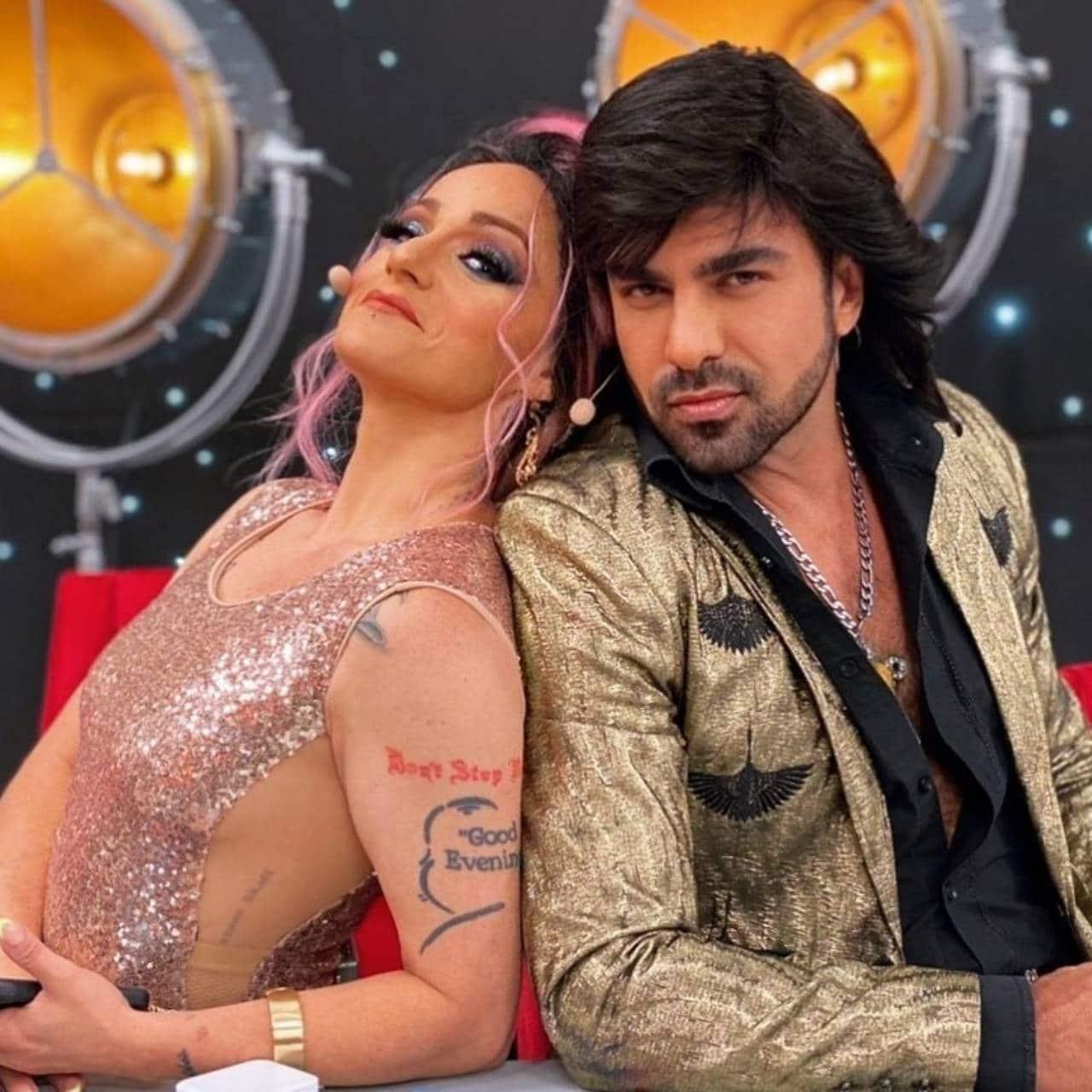 Lolita Cortes y Ariel Miramontes en Albertano