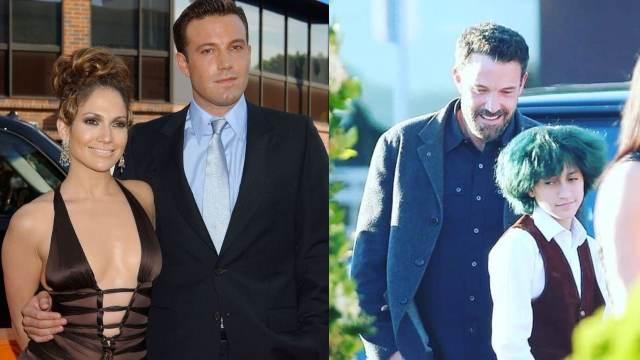 Ben Affleck convive hijos Jennifer Lopez