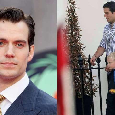 Henry Cavill llevó a su sobrino a la escuela porque no le creían que su tío es superman