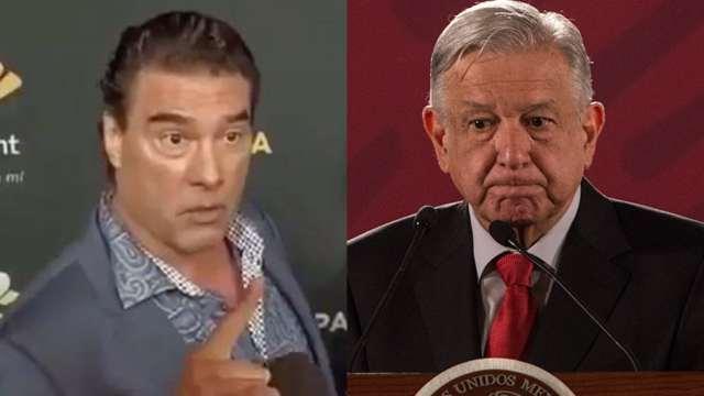 Eduardo Yanez contra AMLO por dar dinero