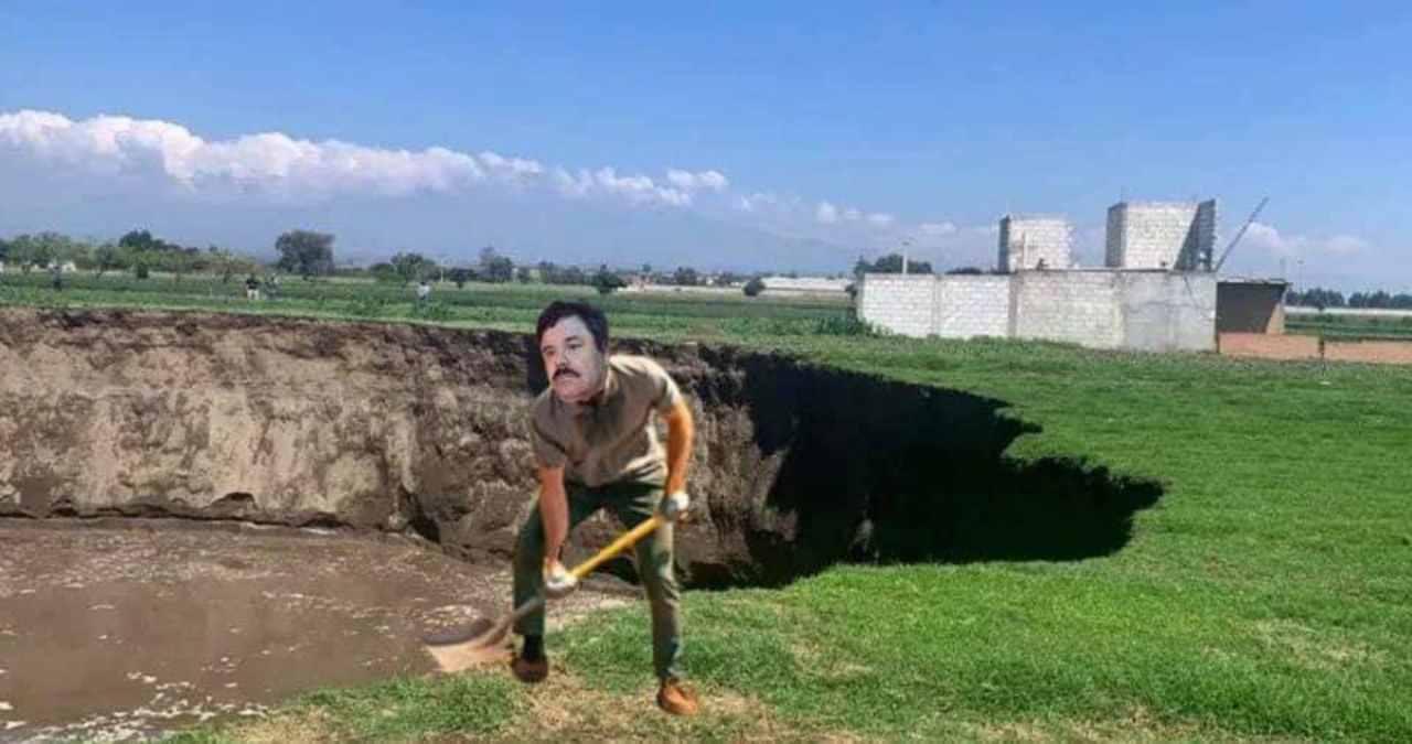 Socavón del Chapo