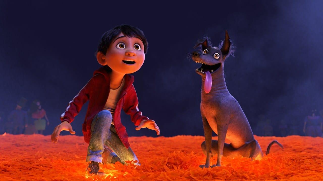 Coco facciones caras filtro de Pixar