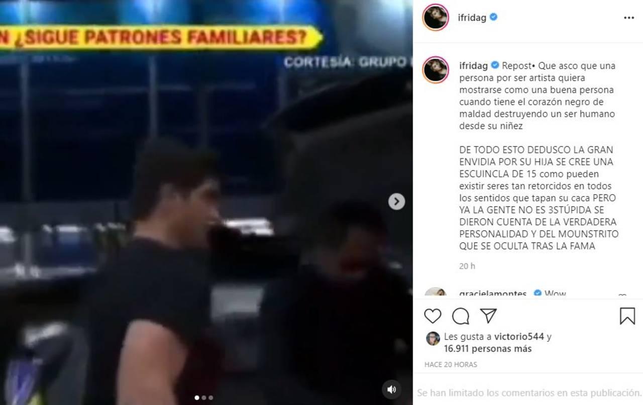 Frida Sofía cree que Alejandra Guzmán la envidia