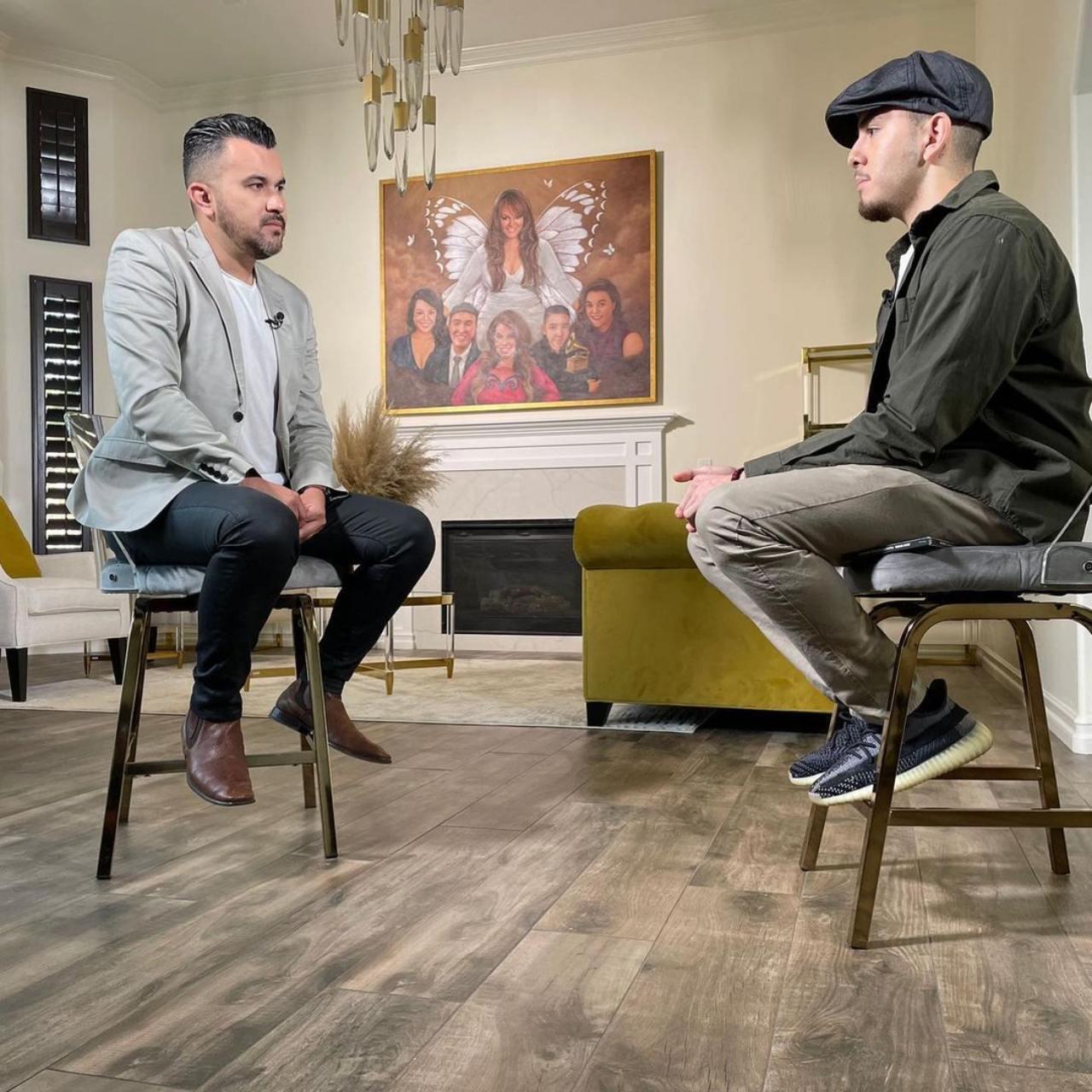 Hijo de Jenni Rivera en entrevista