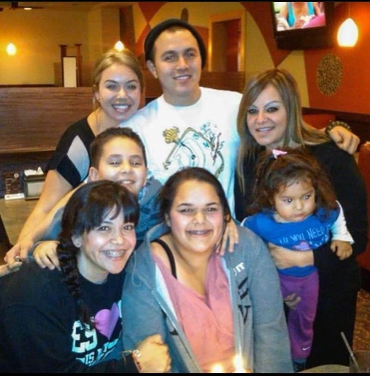 Jenni Rivera con todos sus hijos