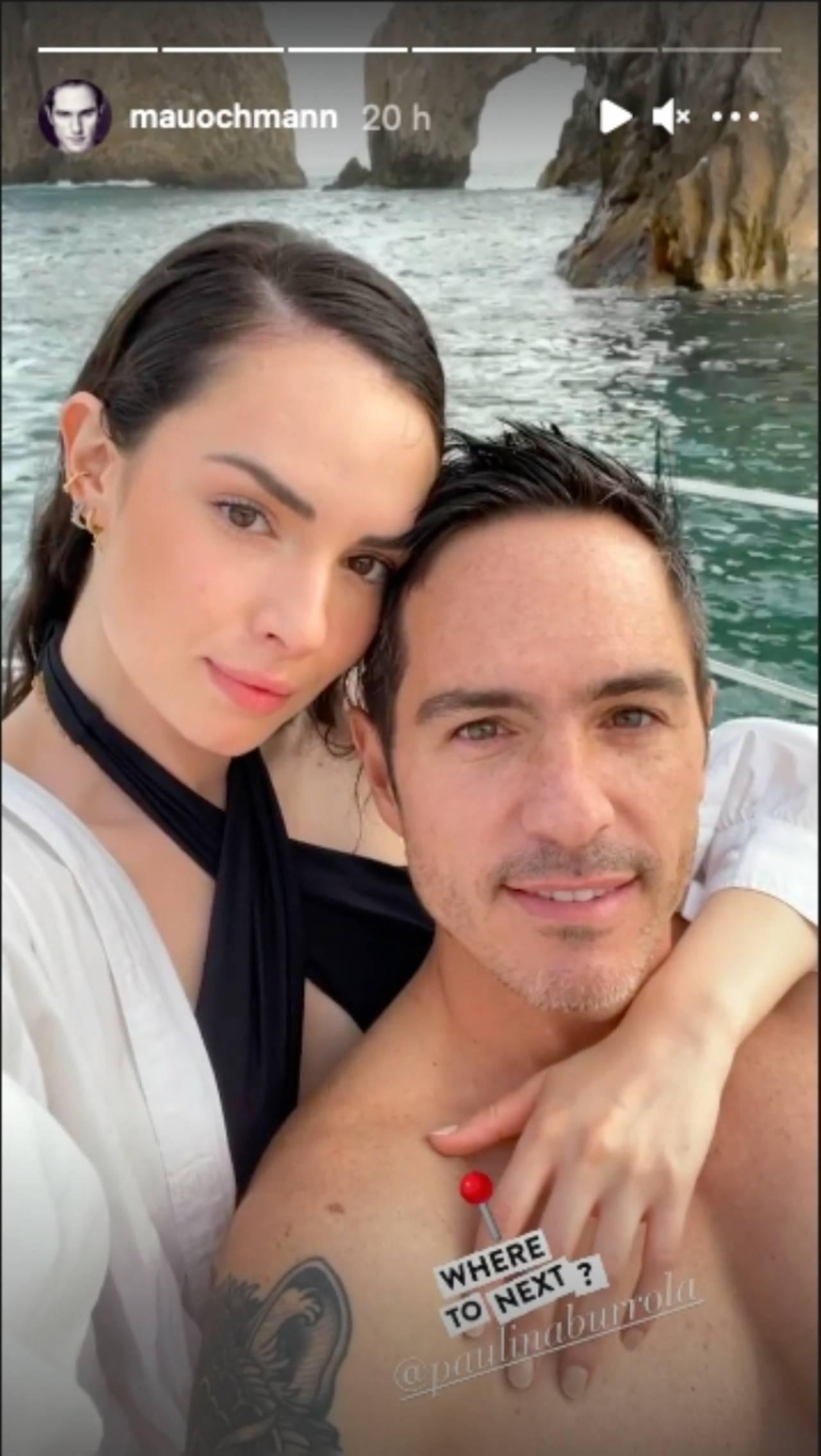 Mauricio Ochmann se metió entre Paulina Burrola y Diego Erice