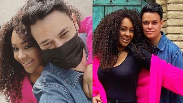M'Balia presume a su novia y derraman miel tras controversia con Lidia Ávila