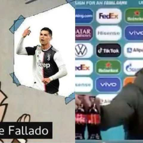 Memes de Cristiano Ronaldo Coca Cola