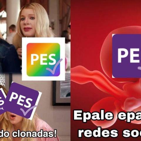 Memes del hackeo de las redes sociales del PES