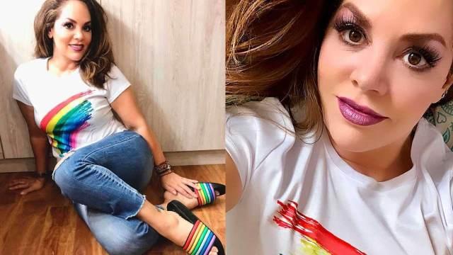 Tatiana se defiende tras críticas por apoyar a la comunidad LGBT